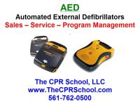 AED Defibrillator Sales, Service and Training